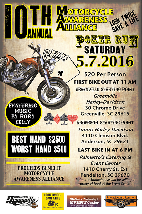 MAA Poker Run, 5-7-2016